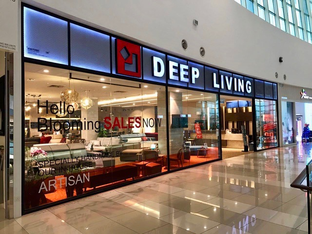 DEEP LIVING FURNITURE - IOI CITY MALL